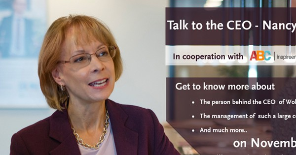 Talk to the CEO: Nancy McKinstry
