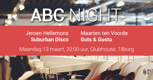 ABC Night: Suburban Disco en Guts & Gusto