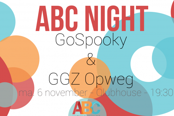 ABC Night: GoSpooky & GGZ Opweg