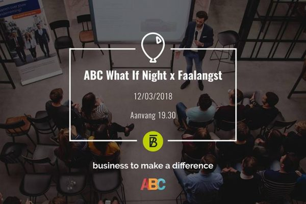 ABC What if night x BANK15 Faalangst