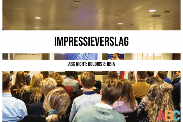 Impressieverslag ABC Night: Doloris & Jibia
